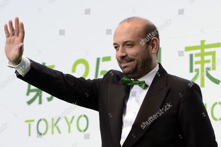 Spanish Film Director Antonio Mendez Esparza Poses During the Opening Event of the 25th Tokyo International Film Festival (tiff) in Tokyo Japan 20 October 2012 the Tiff Will Present a Large Selection of Movies Until 28 October Japan Tokyo