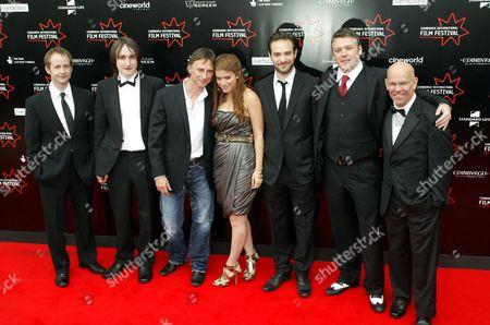 Billy Boyd, Ciaron Kelly, Robert Carlyle, Kate Mara, Charlie Cox, Stephen McCole and director Charles Martin Smith