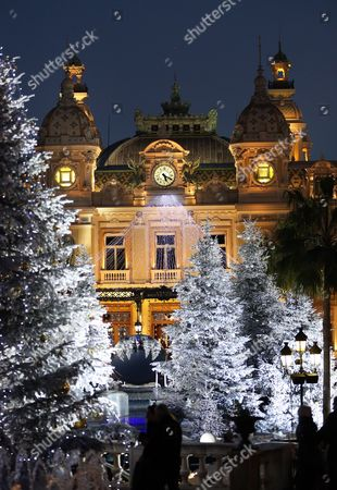 The Monte-carlo's Casino Place is Decorated with Christmas Lights in Monaco 16 December 2012 Reports State That Every Year the Groupe Monte-carlo Sbm Organises a Lighting Ceremony Which Marks the Official Launch of the Resort's Festive Season These Decorations Which Will Remain in Place Until 06 January 2013 Monaco Monaco