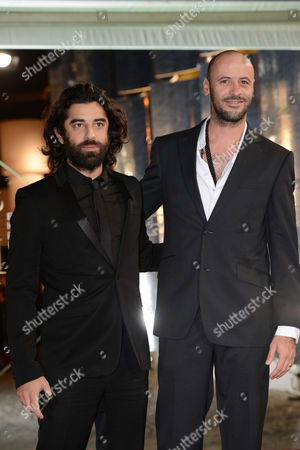 Palestinian Actor Ali Suliman (r) and French-lebanese Actor Karim Saleh For Their Film 'The Attack' at the 12th Annual Marrakesh International Film Festival in Marrakesh Morocco 05 December 2012 the Movie is Presented out of Competition at the Festival Which Runs From 30 November to 08 December 2012 Morocco Marrakesh