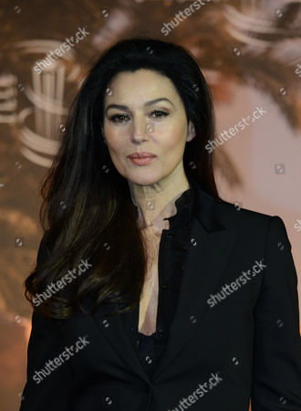 Italian Actress Monica Bellucci Poses During a Photocall For Her Film 'Rhino Season' Directed by Bahman Ghobadi at the 12th Marrakesh International Film Festival in Marrakesh Morocco 02 December 2012 the Festival Runs Until 08 December 2012 Morocco Marrakesh