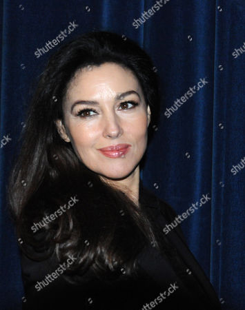 Stock Image of Italian Actress Monica Bellucci Poses During a Photocall For Her Film 'Rhino Season' Directed by Bahman Ghobadi at the 12th Marrakesh International Film Festival in Marrakesh Morocco 02 December 2012 the Festival Runs Until 08 December 2012 Morocco Marrakesh