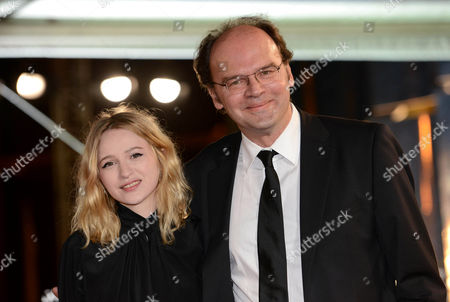 French Actress Christa Theret (l) and French Director Jean Pierre Ameris (r) Arrive For the Premiere of 'L'homme Qui Rit' (the Man who Laughs) During the 12th Annual Marrakesh International Film Festival in Marrakesh Morocco 03 December 2012 the Movie is Presented out of Competition at the Festival Which Runs From 30 November to 08 December 2012 Morocco Marrakech