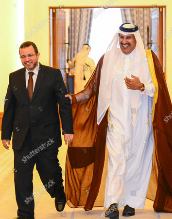 Editorial picture of Qatar Egypt Prime Minister Visit - Apr 2013