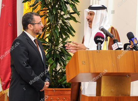 Editorial photo of Qatar Egypt Prime Minister Visit - Apr 2013