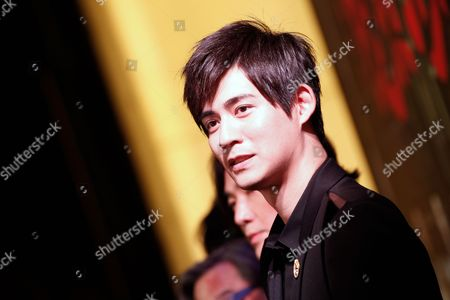Taiwanese Actor and Cast Member Vic Chou Also Known As Zhou Yu Min Poses on the Red Carpet During the Premier of the Movie 'Saving General Yang' in Singapore 30 March 2013 the Movie Directed by Hong Kong's Ronny Yu is Scheduled For Release 04 April Singapore Singapore