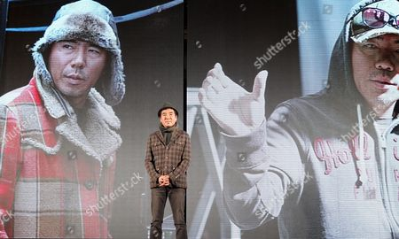 South Korean Director Kim Jee-woon Poses For Photographers During a Press Conference on His Film 'The Last Stand' at a Hotel in Seoul South Korea 20 February 2013 the Movie Will Open in South Korean Theaters on 21 February Korea, Republic of Seoul