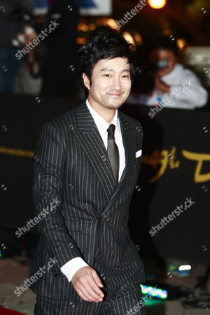 South Korean Actor Park Hae-il Arrives For the 49th Daejong Film Awards at the Youido Kbs Hall in Seoul South Korea 30 October 2012 Korea, Republic of Seoul