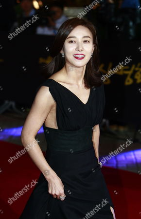 Stock Image of South Korean Actress Jang Young-nam Arrives For the 49th Daejong Film Awards at the Youido Kbs Hall in Seoul South Korea 30 October 2012 Korea, Republic of Seoul