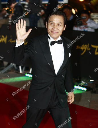 South Korean Actor Ahn Sung-ki Arrives For the 49th Daejong Film Awards at the Youido Kbs Hall in Seoul South Korea 30 October 2012 Korea, Republic of Seoul