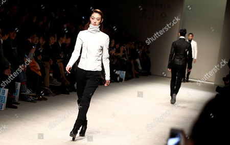 Editorial image of South Korea Seoul Fashion Week - Mar 2013