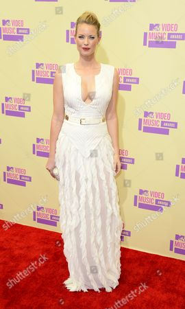 Us Actress Christine Scott Bennett Arrives For the Mtv Video Music Awards in Los Angeles California Usa 06 September 2012 United States Los Angeles
