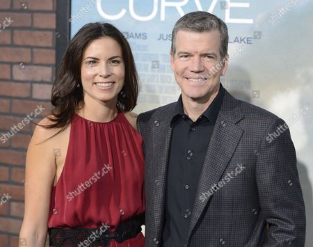 Us Director Robert Lorenz (r) and Melissa Lorenz (l) Arrive For the 'Trouble with the Curve' Premiere in Westwood California Usa 19 September 2012 United States Westwood