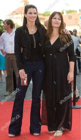 Julia Ormond and director Jennifer Lynch