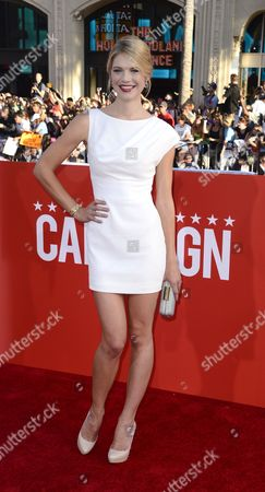 Us Actress and Cast Member Kate Lang Johnson Arrives For the Premiere of 'The Campaign' at Grauman's Chinese Theatre in Hollywood California Usa 02 August 2012 United States Hollywood