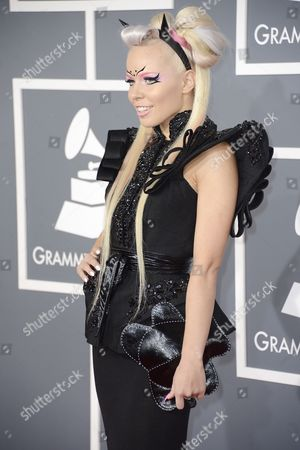 Estonian Singer Kerli Koiv Arrives For the 55th Annual Grammy Awards in Los Angeles California Usa 10 February 2013 United States Los Angeles
