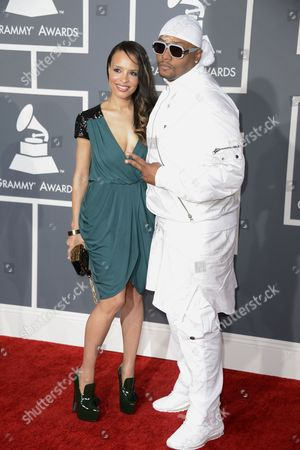 Us Word Artist and Musician Malik Yusef (r) and Guest Arrive For the 55th Annual Grammy Awards in Los Angeles California Usa 10 February 2013 United States Los Angeles