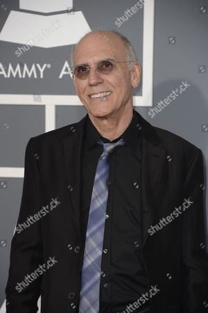 Us Jazz Musician Larry Carlton Arrives For the 55th Annual Grammy Awards in Los Angeles California Usa 10 February 2013 United States Los Angeles