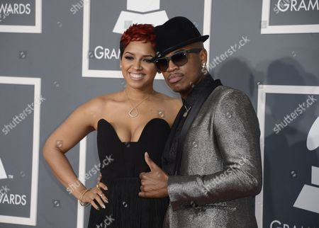 Us Recording Artist Ne-yo (r) and Girlfriend Monyetta Shaw (l) Arrive For the 55th Annual Grammy Awards in Los Angeles California Usa 10 February 2013 United States Los Angeles