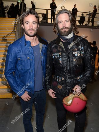 Stock Image of Thom Evans and David Blakeley