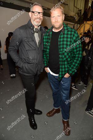 Stock Image of Daniel Marks and Dan Lywood