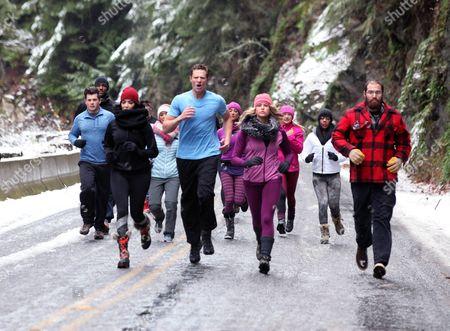 L-R: Cameron Zagami, David Neville, Ivette Saucedo, Chris Krueger, Joy Lipson, Brooke Van Paris, Lisa Traugott, Tabitha Chandler and Mark Bouquin