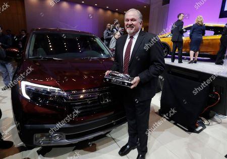 Editorial photo of Auto Show Awards, Detroit, USA - 09 Jan 2017