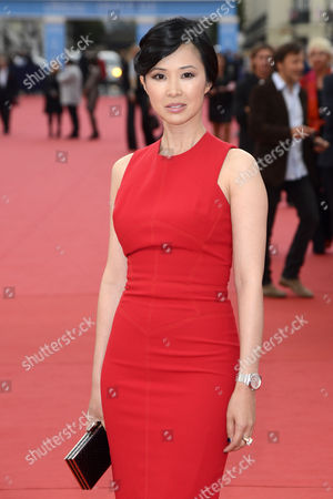 French Actress Linh-dan Pham Arrives For the Screening of 'The Bourne Legacy' During the 38th Deauville American Film Festival in Deauville France 01 September 2012 France Deauville