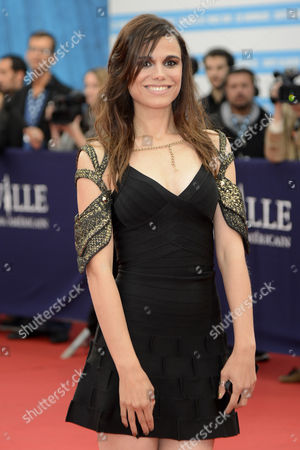 French Actress Melissa Mars Arrives For the Screening of 'The Bourne Legacy' During the 38th Deauville American Film Festival in Deauville France 01 September 2012 France Deauville