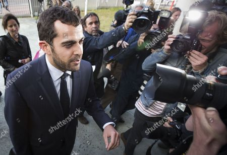 Stock Photo of Aurelien Hamelle Lawyer Representing Britain's Prince William and Kate Middleton Arrives at the Tribunal De Grande Instance in Nanterre Near Paris France 17 September 2012 Hamelle is Representing the Royal Couple in Legal Proceedings Brought Against Closer Magazine Which Published Topless Pictures of Kate Middleton Taken by an Unidentified Paparazzi Photographer in Southern France Over the Summer France Nanterre