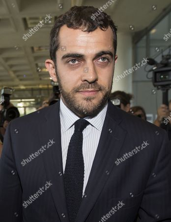 Aurelien Hamelle Lawyer Representing Britain's Prince William and Kate Middleton Arrives at the Tribunal De Grande Instance in Nanterre Near Paris France 17 September 2012 Hamelle is Representing the Royal Couple in Legal Proceedings Brought Against Closer Magazine Which Published Topless Pictures of Kate Middleton Taken by an Unidentified Paparazzi Photographer in Southern France Over the Summer France Nanterre