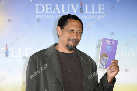 Us Writer and Professor of English at the University of Southern California Percival Everett Poses For Photographers at a Photocall During the 38th Deauville American Film Festival in Deauville France 05 September 2012 Everett Won the 2012 Lucien Barriere Literary Award For His Novel 'Not Sidney Poitier' at the Festival Which Runs From 31 August to 09 September France Deauville