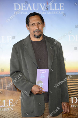 Stock Image of Us Writer and Professor of English at the University of Southern California Percival Everett Poses For Photographers at a Photocall During the 38th Deauville American Film Festival in Deauville France 05 September 2012 Everett Won the 2012 Lucien Barriere Literary Award For His Novel 'Not Sidney Poitier' at the Festival Which Runs From 31 August to 09 September France Deauville