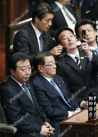 Editorial photo of Japan Politics Noda Dissolve - Nov 2012