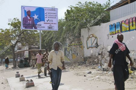 Editorial picture of Somalia Elections New President - Sep 2012