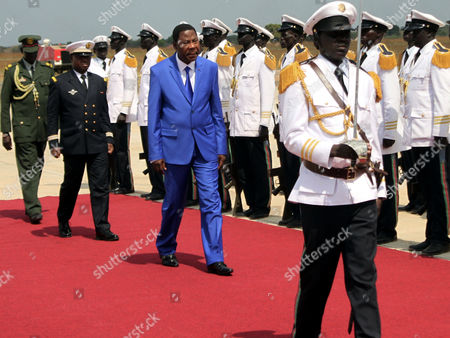 Editorial image of South Sudan Benin President Visit - Jan 2013