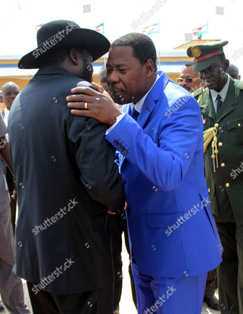 Editorial photo of South Sudan Benin President Visit - Jan 2013