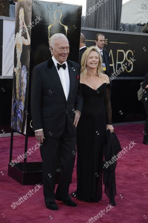 Canadian Actor and Producer Christopher Plummer (l) and His Wife Elaine Taylor (r) Arrive For the 85th Academy Awards in Hollywood California Usa 24 February 2013 the Oscars Are Presented For Outstanding Individual Or Collective Efforts in Up to 24 Categories in Filmmaking United States Hollywood