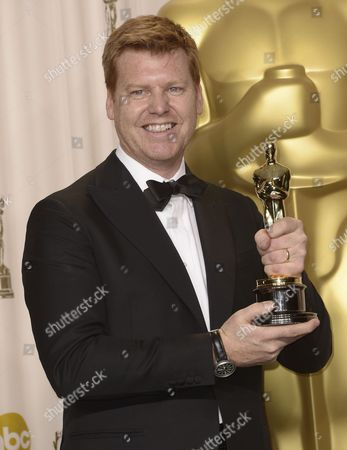 Us Animator John Kahrs Holds His Oscar For Best Animated Short Film For 'Paperman' at the 85th Academy Awards at the Dolby Theatre in Hollywood California Usa 24 February 2013 the Oscars Are Presented For Outstanding Individual Or Collective Efforts in Up to 24 Categories in Filmmaking United States Hollywood