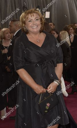 British Production Designer Eve Stewart Arrives on the Red Carpet For the 85th Academy Awards at the Dolby Theatre in Hollywood California Usa 24 February 2013 the Oscars Are Presented For Outstanding Individual Or Collective Efforts in Up to 24 Categories in Filmmaking United States Hollywood