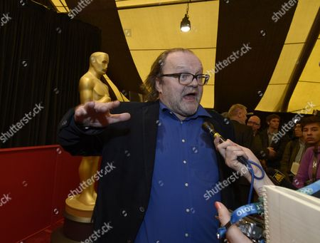 German Producer Stefan Arndt of the Film 'Amour' Speaks with the Media at the Foreign Language Film Award Photo Op Outside the Dolby Theatre in Hollywood California Usa 22 February 2013 Five Foreign Language Films Are Nominated For the 85th Academy Awards United States Hollywood