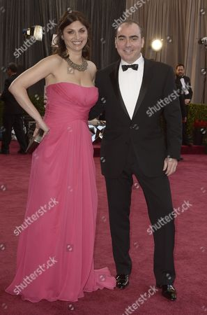 Us Producers Sari Gilman (l) and Jedd Wider (r) Arrive on the Red Carpet For the 85th Academy Awards at the Dolby Theatre in Hollywood California Usa 24 February 2012 the Oscars Are Presented For Outstanding Individual Or Collective Efforts in Up to 24 Categories in Filmmaking United States Hollywood