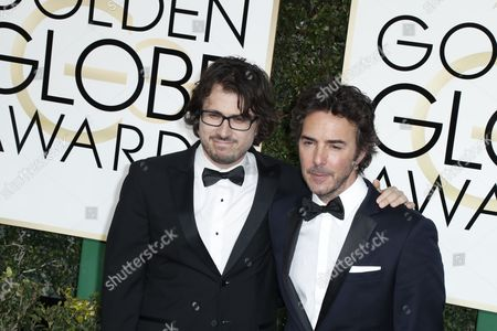 Dan Cohen and Sean Levy  arrive for the 74th annual Golden Globe Awards ceremony at the Beverly Hilton Hotel in  Beverly Hills, California, USA, 08 January 2017.