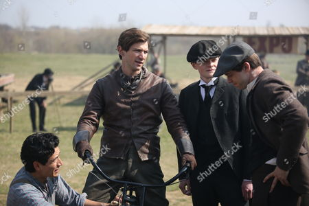 Editorial photo of 'Harley And the Davidsons' TV series  - 2016