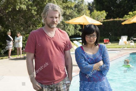 Stock Photo of (Left to Right) Todd Lowe and Keiko Agena