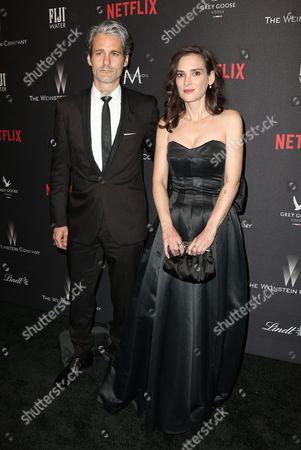 Scott Mackinlay Hahn and Winona Ryder