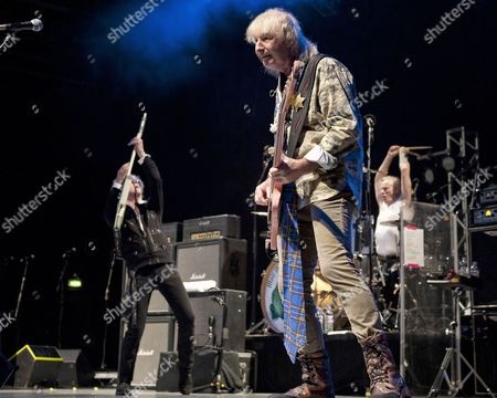 Stock Picture of Mott The Hoople - Peter Overend Watts, Ian Hunter