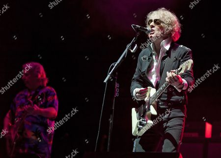 Editorial photo of Mott The Hoople in concert at The Clyde Auditorium, Glasgow, Scotland, UK - 13 Nov 2013