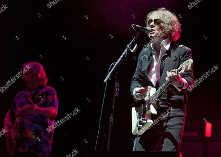 Editorial picture of Mott The Hoople in concert at The Clyde Auditorium, Glasgow, Scotland, UK - 13 Nov 2013