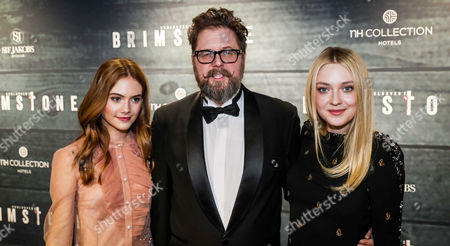 Emilia Jones, Martin Koolhoven and Dakota Fanning